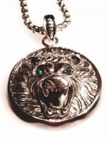 Lions Roar Pendant Necklace