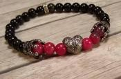 Heart and Crowns Bracelet