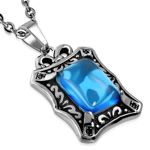 Blue Goth Necklace