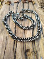 Stainless Steel Large Chain Necklace