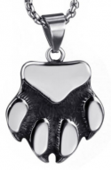 Bear Paw Necklace